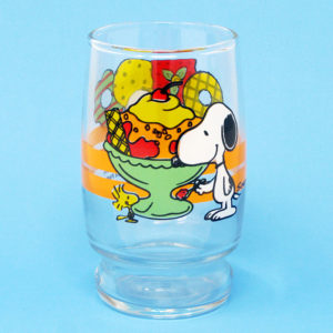 Snoopy & Woodstock Desserts Juice Glass