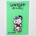 Snoopy Rollerskating Pin