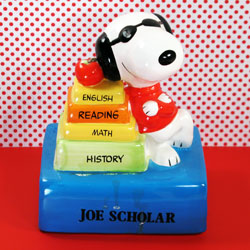 Back to School, Snoopy!