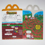 Peanuts Gang Field Day Happy Meal Box
