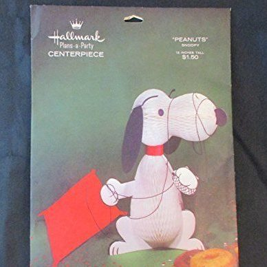 Snoopy Party Centerpiece