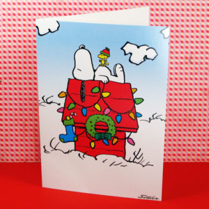 10 off peanuts christmas cards
