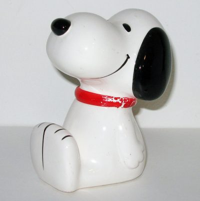 Snoopy sitting Bank
