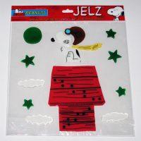 Snoopy Flying Ace Jelz Window Cling