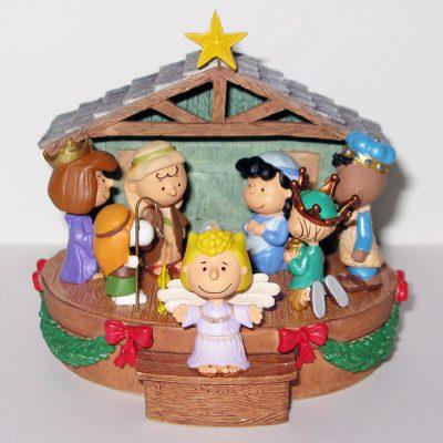 Peanuts Nativity Christmas Ornament