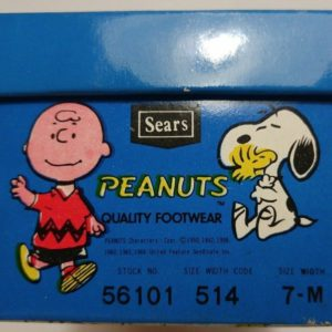 Peanuts Shoe Box from Sears