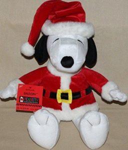 Snoopy Santa Plush from Hallmark