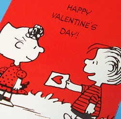 Peanuts Valentine's Day Card Exchange