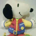 Snoopy Learn to Dress Rag Doll