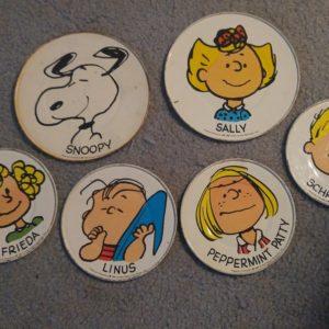 Peanuts Tea Set Plates