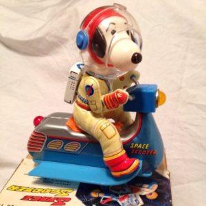 Masudaya Snoopy Space Scooter