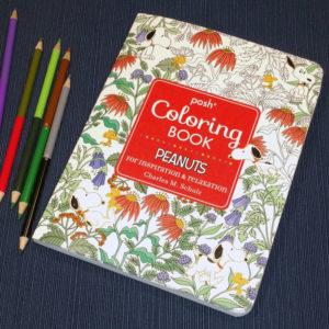 Peanuts Adult Coloring Book - Peanuts Treasure Box