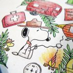 Snoopy & Woodstock Go Camping - Peanuts Adult Coloring Book