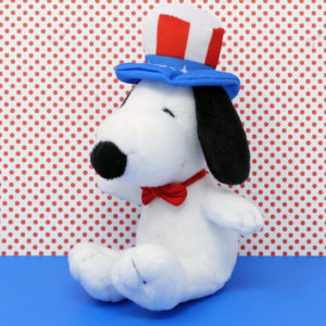 Snoopy Uncle Sam Plush Toy