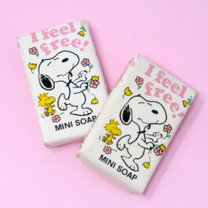 "Snoopy ""I Feel Free"" Mini Soap"