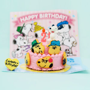Snoopy & the Daisy Hill Puppies Birthday Cake