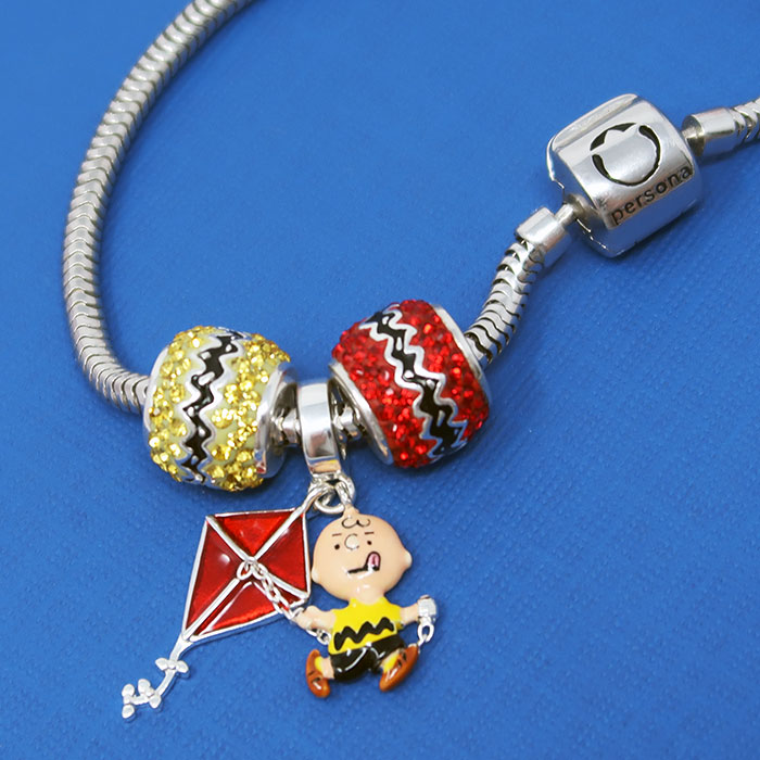 Persona Charm Bracelet: Peanuts By Persona Jewelry Collection