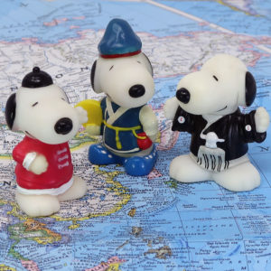 Around the World with Snoopy