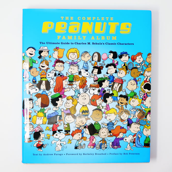"""A Look Inside """"The Complete Peanuts Family Album"""""""