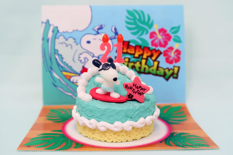 Snoopy Surfer Birthday Cake Collectpeanuts