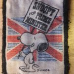 Snoopy for Prime Minister Patch