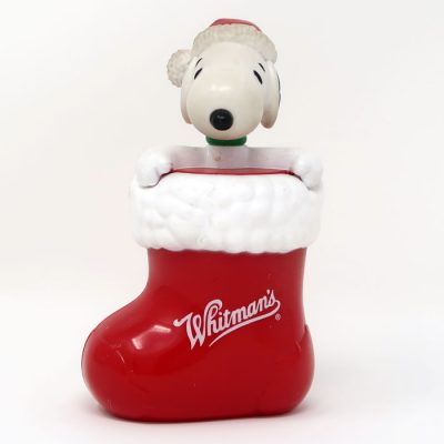 Snoopy in Christmas Stocking Container