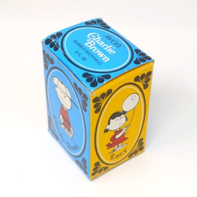 Charlie Brown Avon Shaving Mug with Box