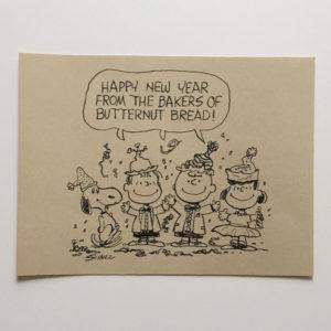 Happy New Year Peanuts Artwork