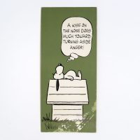 Snoopy 'A Kiss on the Nose…' Post Card