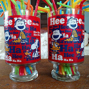Over-sized Snoopy Drinking Glass