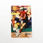 Snoopy & Steve Young Promotional Phone Card
