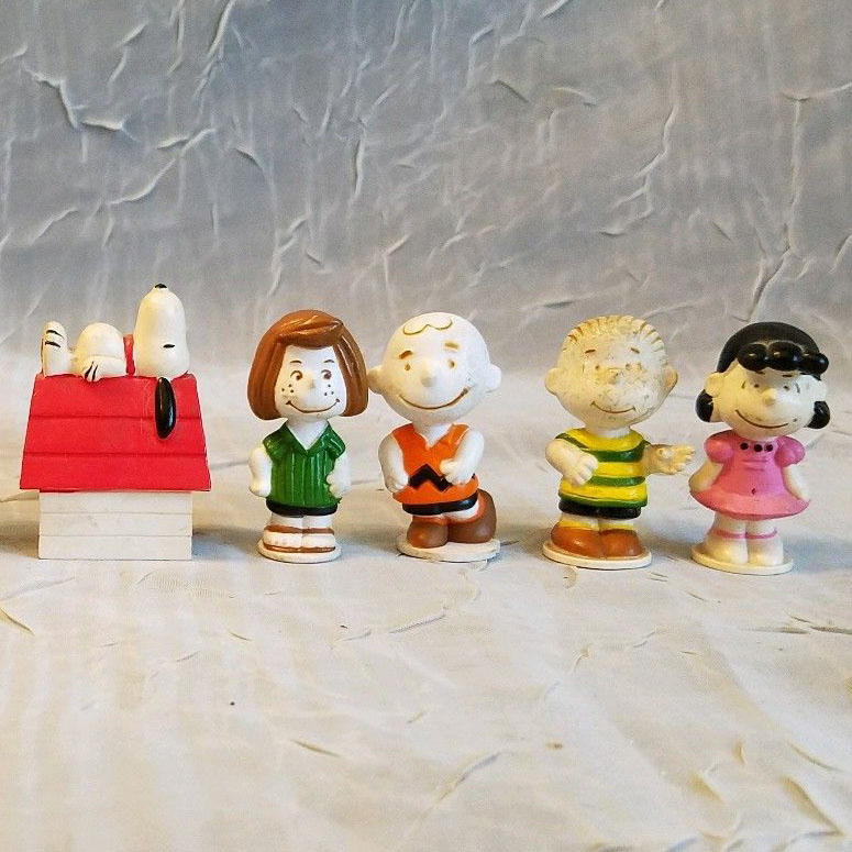 The Snoopy Game Pieces