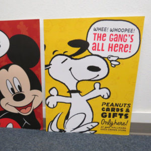 Snoopy In-store Signage