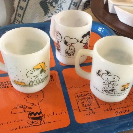 Drinks are served! Here's one Estate sale that knows how to sell you the Snoopy.
