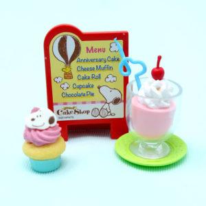 Snoopy's Cupcake & Milkshake Pairing
