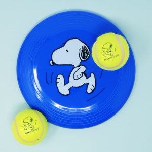 Snoopy outdoor play