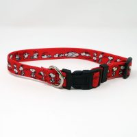 Red Snoopy Pet Collar