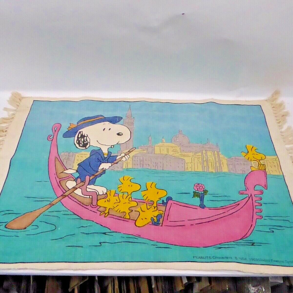 Snoopy Tapestry Rug