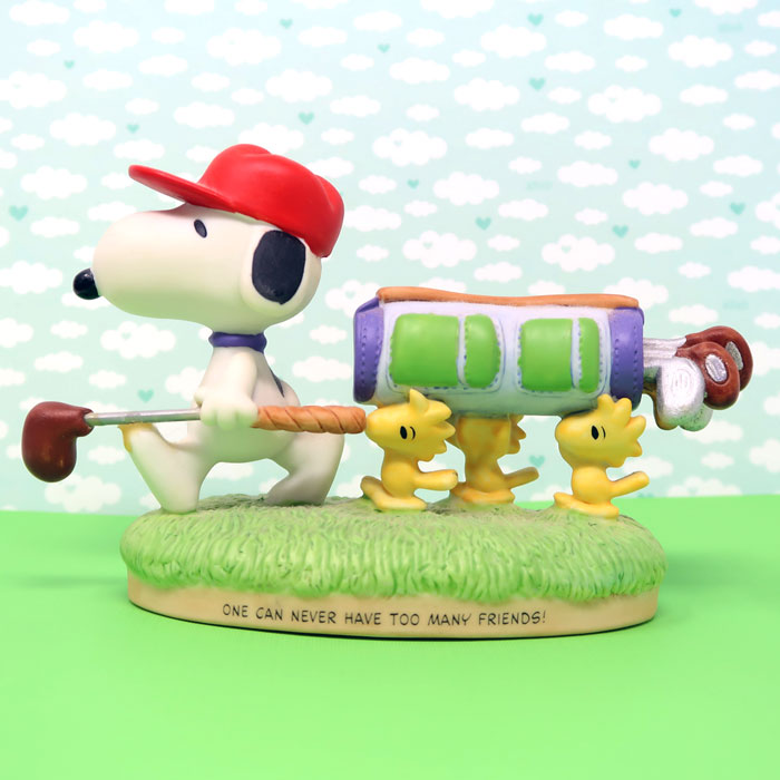 Snoopy's Golfing Foursome