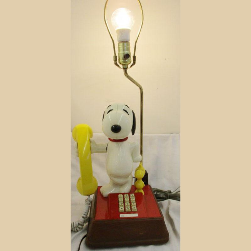 Snoopy Phone Lamp