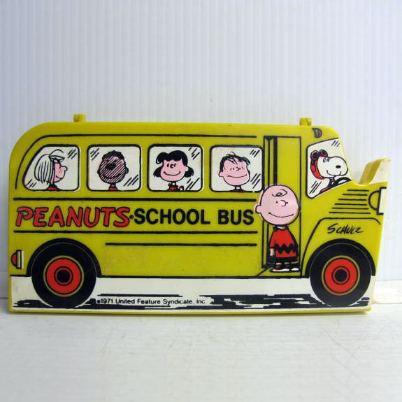 Peanuts School Bus Pencil Case