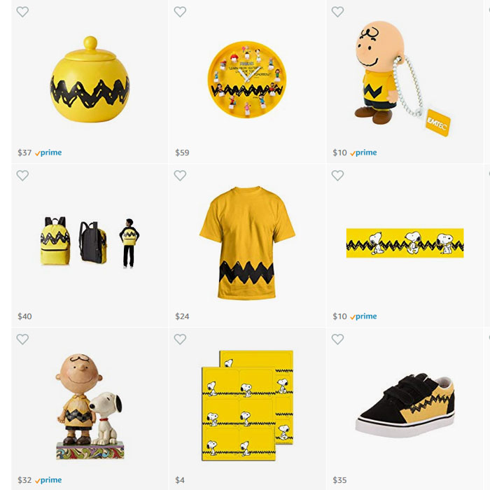 Peanuts Goodies for Amazon Prime Day