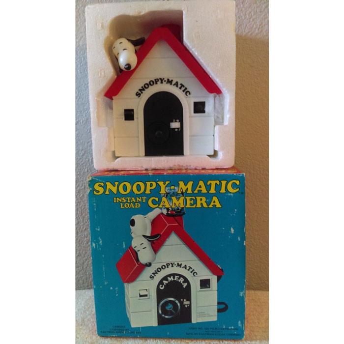 Snoopy-matic Camera