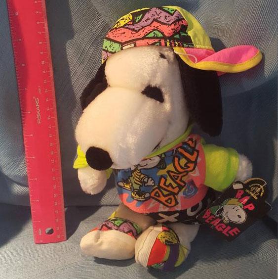 Snoopy Rap Beagle Plush Doll
