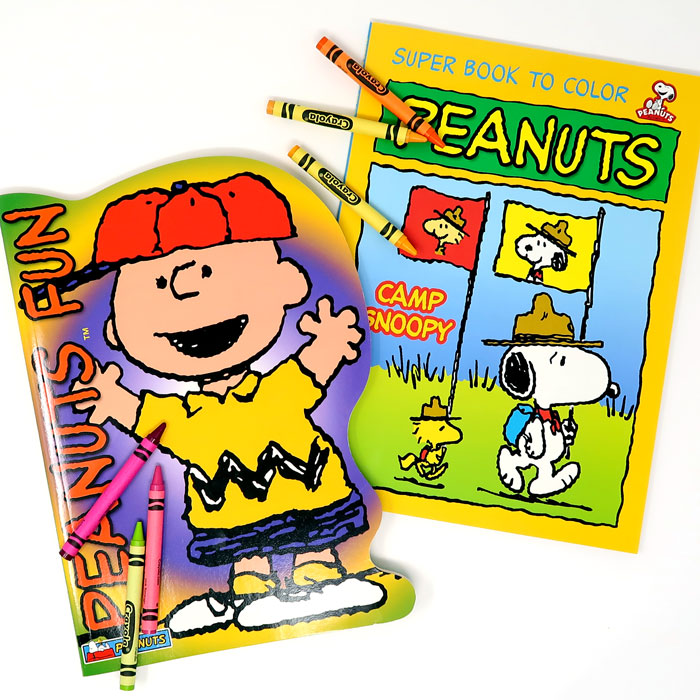 Snoopy Coloring Books