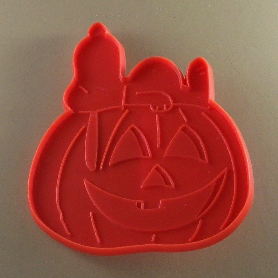 Snoopy Halloween Pumpkin Cookie Cutter