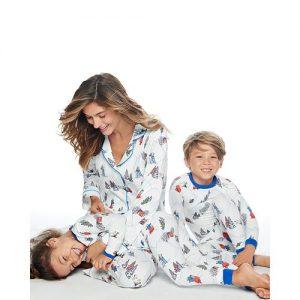 peanuts christmas pajamas from bloomingdales