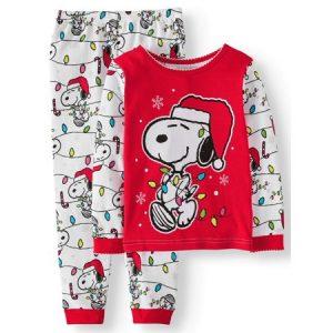 Peanuts Christmas Apparel from Walmart