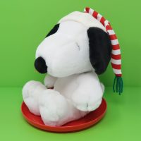 Snoopy on Sled Plush