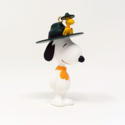 Beaglescout Snoopy & Woodstock Christmas Ornament